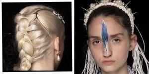 Simone Rocha SS20 Hair Makeup