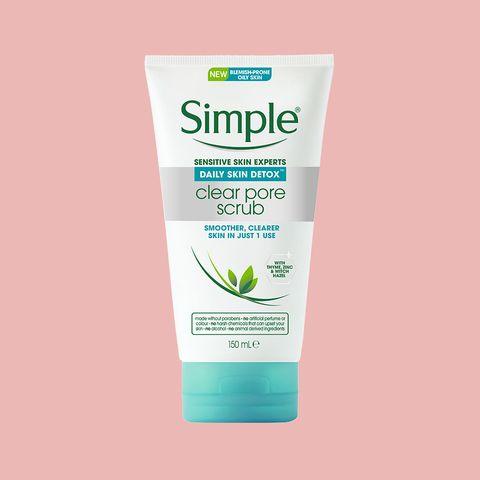 Simple Daily Skin Detox Clear Pore Scrub