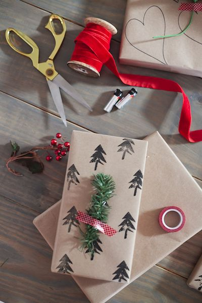 Gift Wrapping Ideas Easy Gift Wrapping