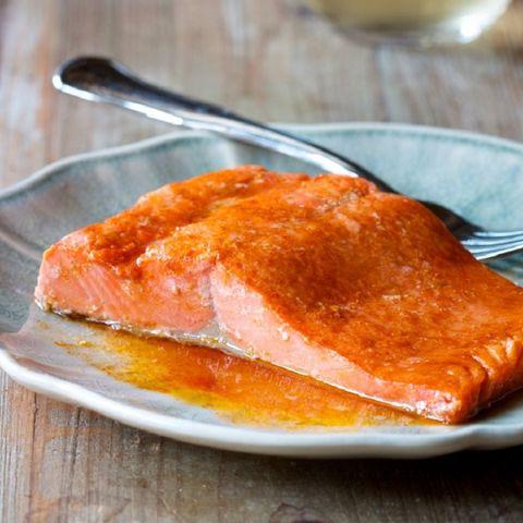 microwave foods paprika smoked salmon