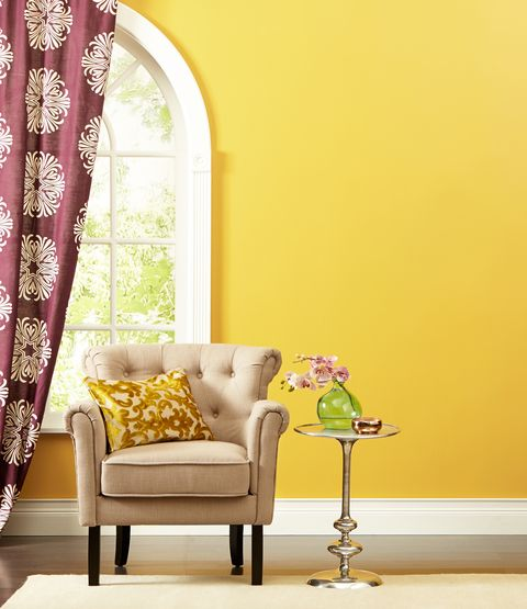 6 Ways To Use Yellow Paint At Home For A Burst Of Happiness All Year