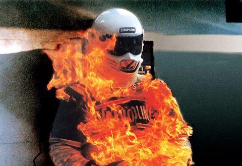 Orange, Flame, Fire, Helmet, Personal protective equipment,