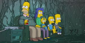 Simpson Stranger Things