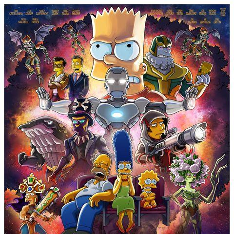 'Los Simpsons' convierte al CEO de Marvel, Kevin Feige, en Thanos