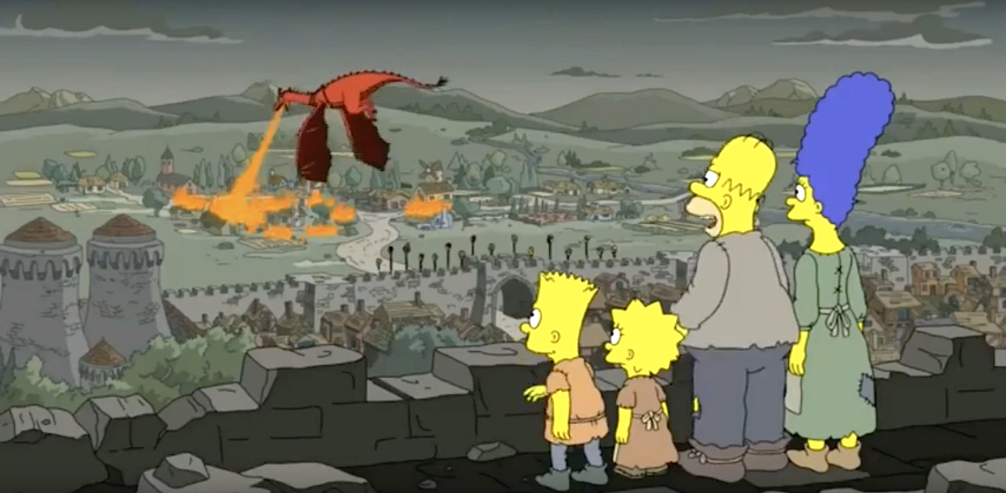 The Simpsons Predicted the Game of Thrones Daenerys Twist Along With Everyone Else