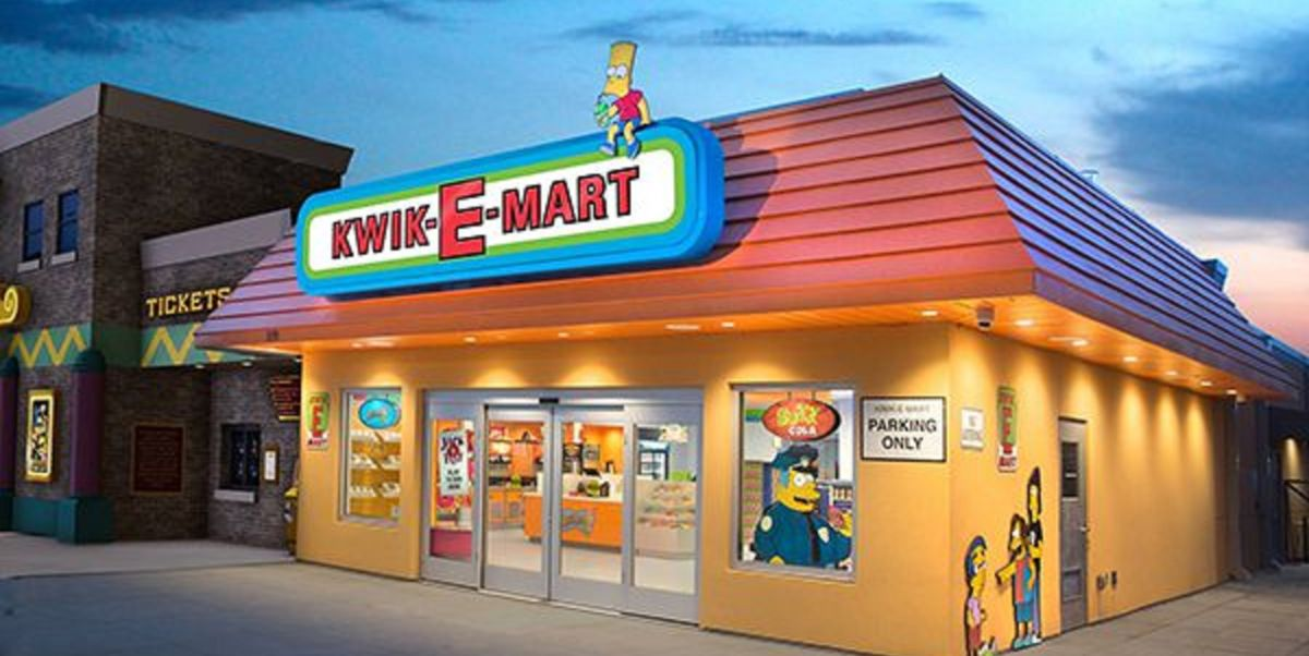 A Real Life Simpsons Kwik E Mart Just Opened In South Carolina