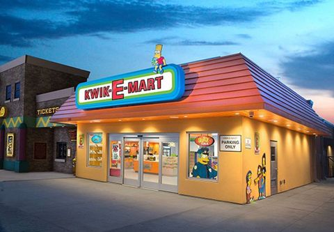 The Simpsons Kwik E Mart Opens At Broadway On The Beach In