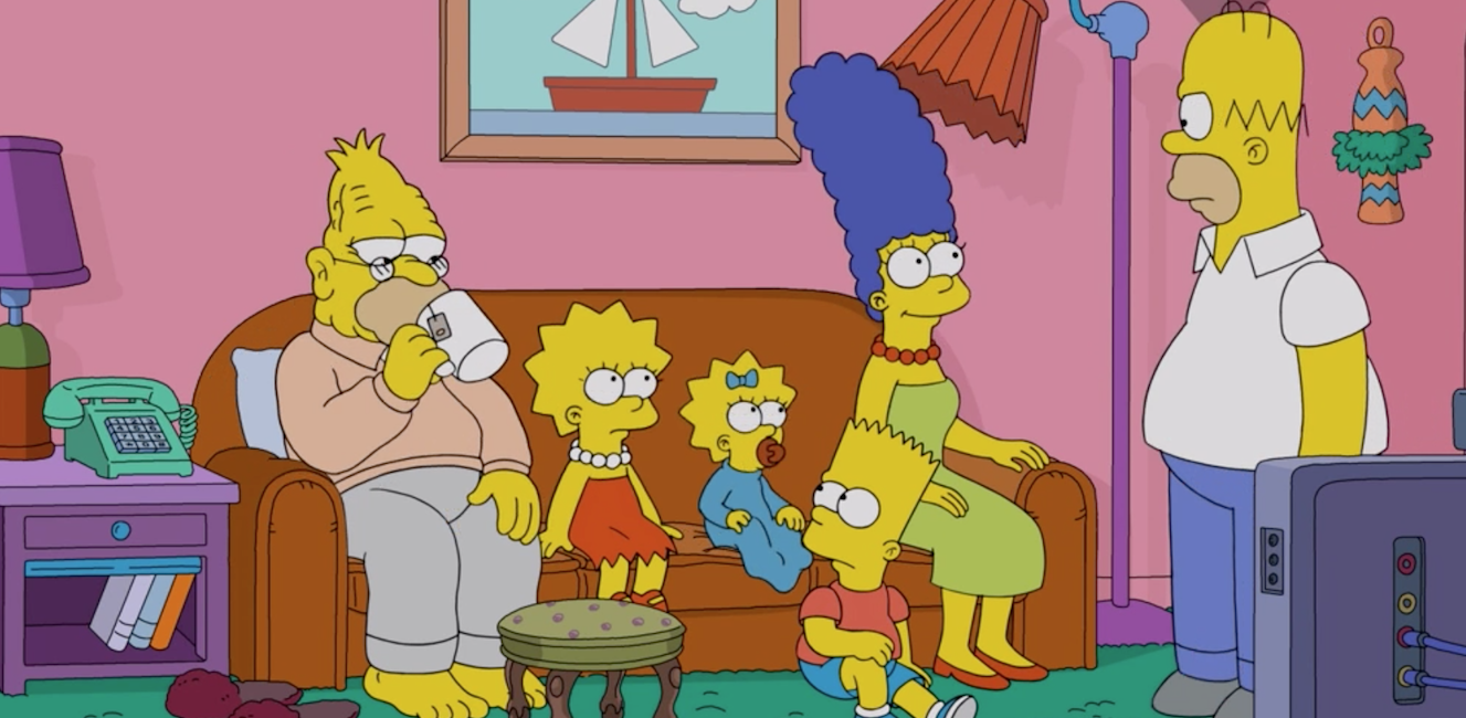 Here's What The Simpsons Living Room Would Look Like in the Real World