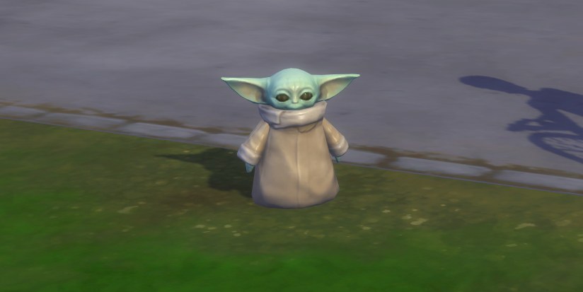 Sims 4 Adds Baby Yoda To The Game In New Update