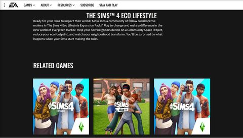 the sims 4 eco lifestyle expansion pack leak