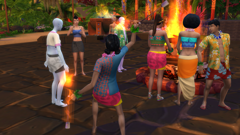 The Sims 4: Island Living - Digital Spy screenshot