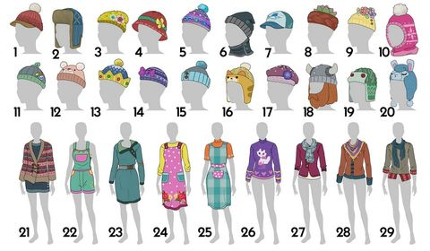 The Sims 4 knitting pack - clothing style vote