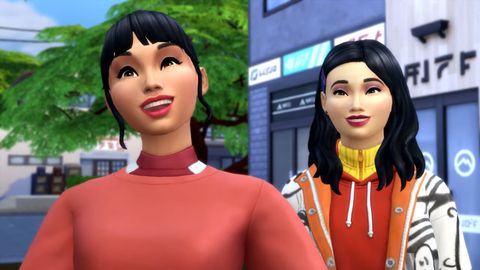 Sims 4 icy escape trailer screenshot
