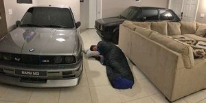 BMW M3 huracán Dorian