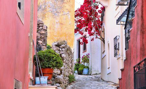 Sinarades village, Corfu