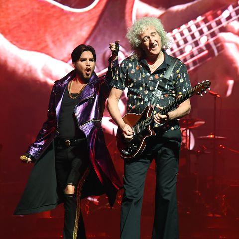 Queen + Adam Lambert Kick Off 'The Crown Jewels' At Park MGM