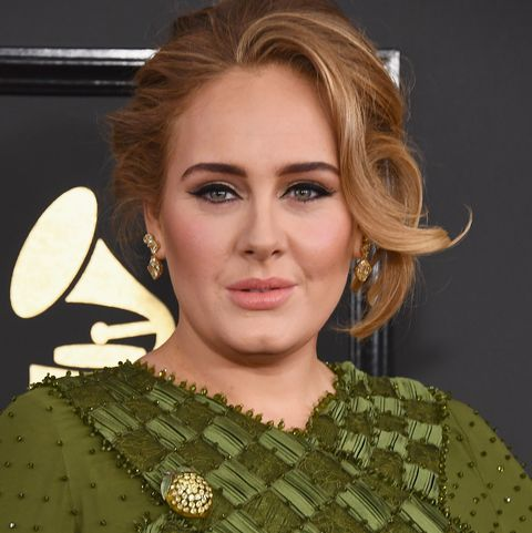 Adele at the59th GRAMMY Awards - Arrivals