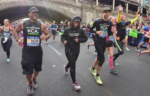 Famosos en la Maratón de Nueva York