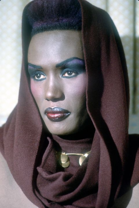 Grace Jones Portrait Session