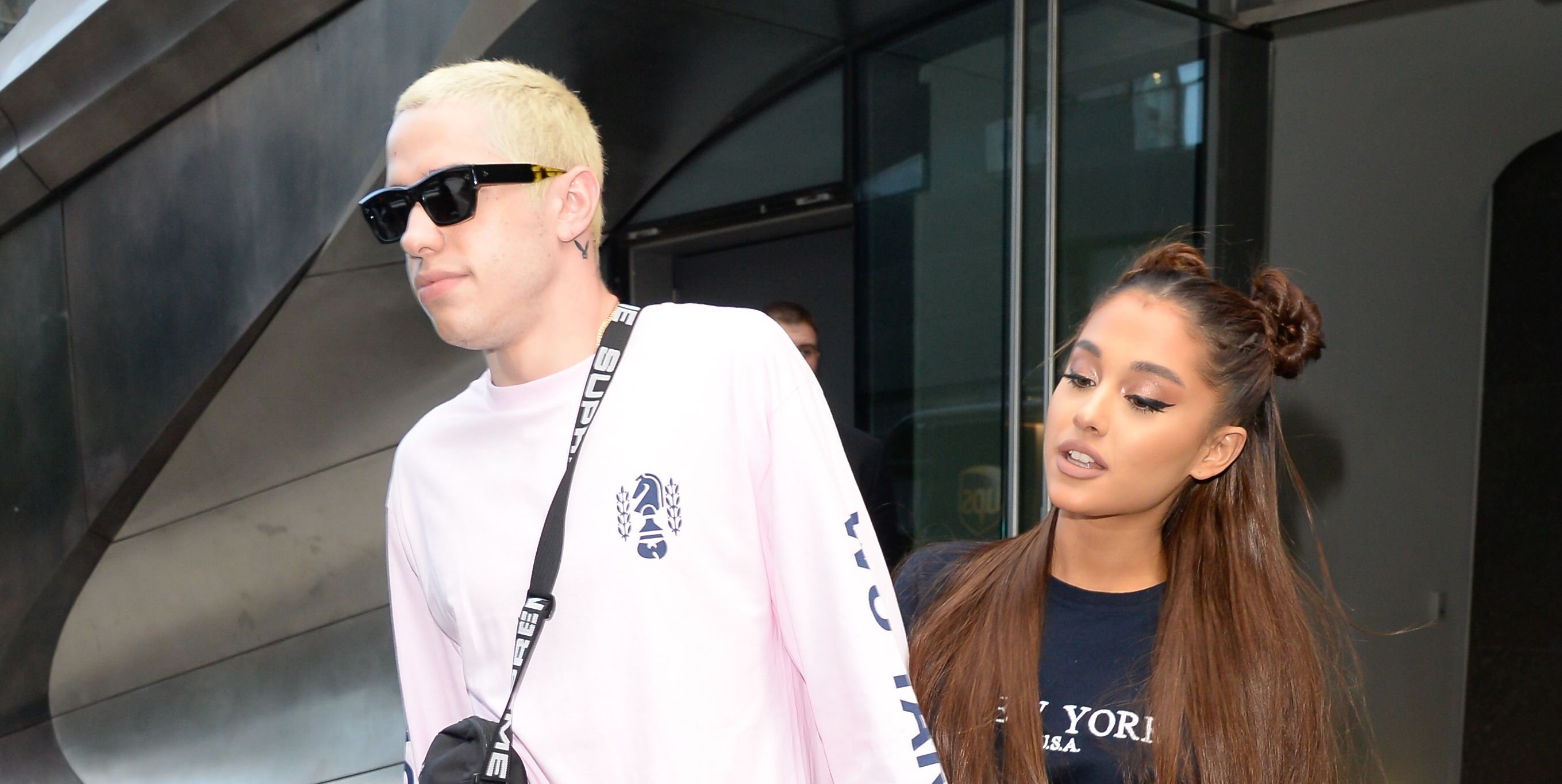 Ariana Grande Pete Davidson in New York City - July 11, 2018