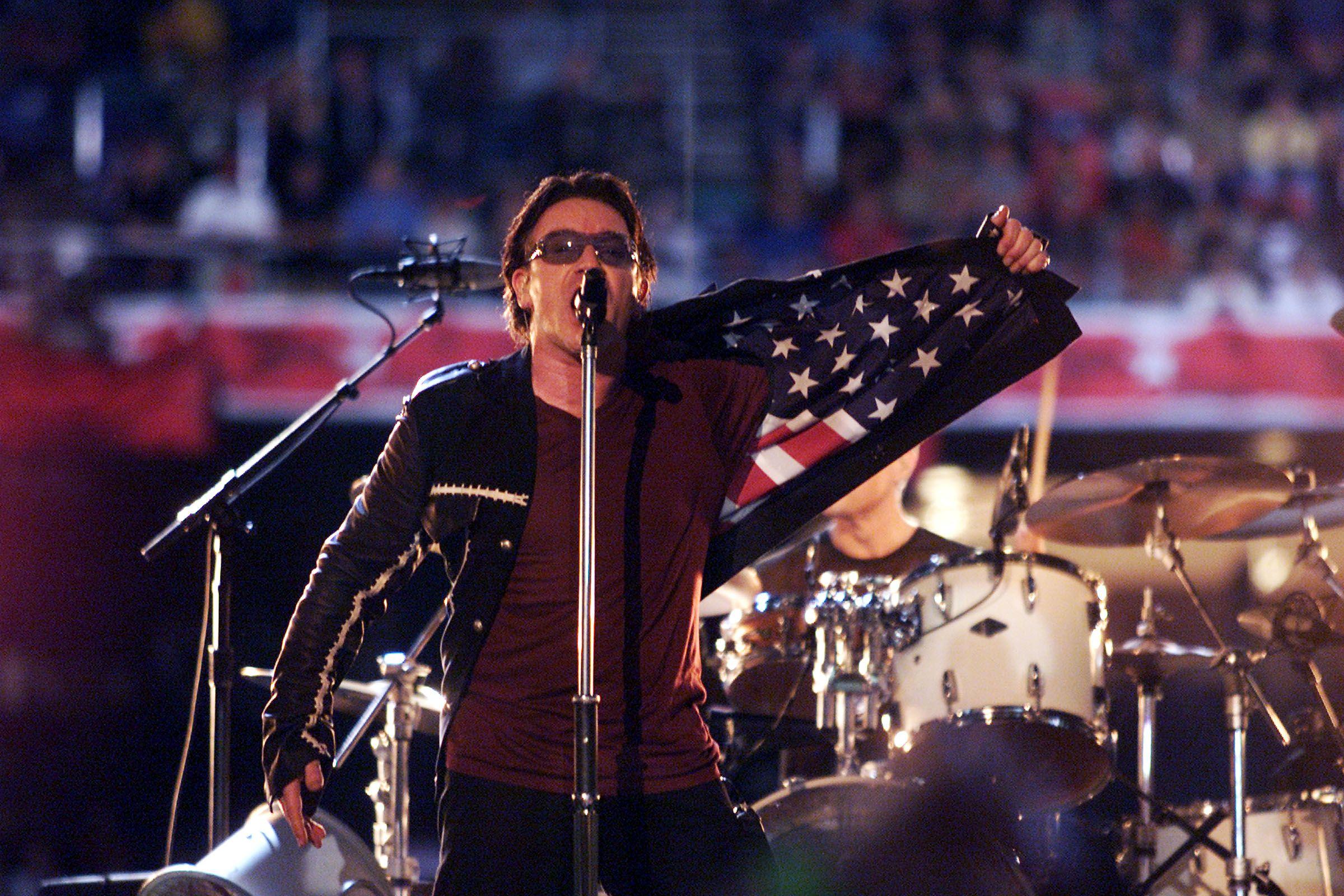 Super Bowl XXXVI: U2 Honors 9/11 Victims (2002)