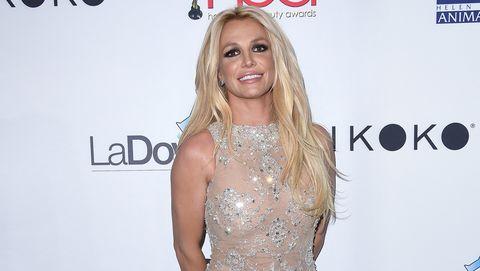Britney Spears rutina piscina