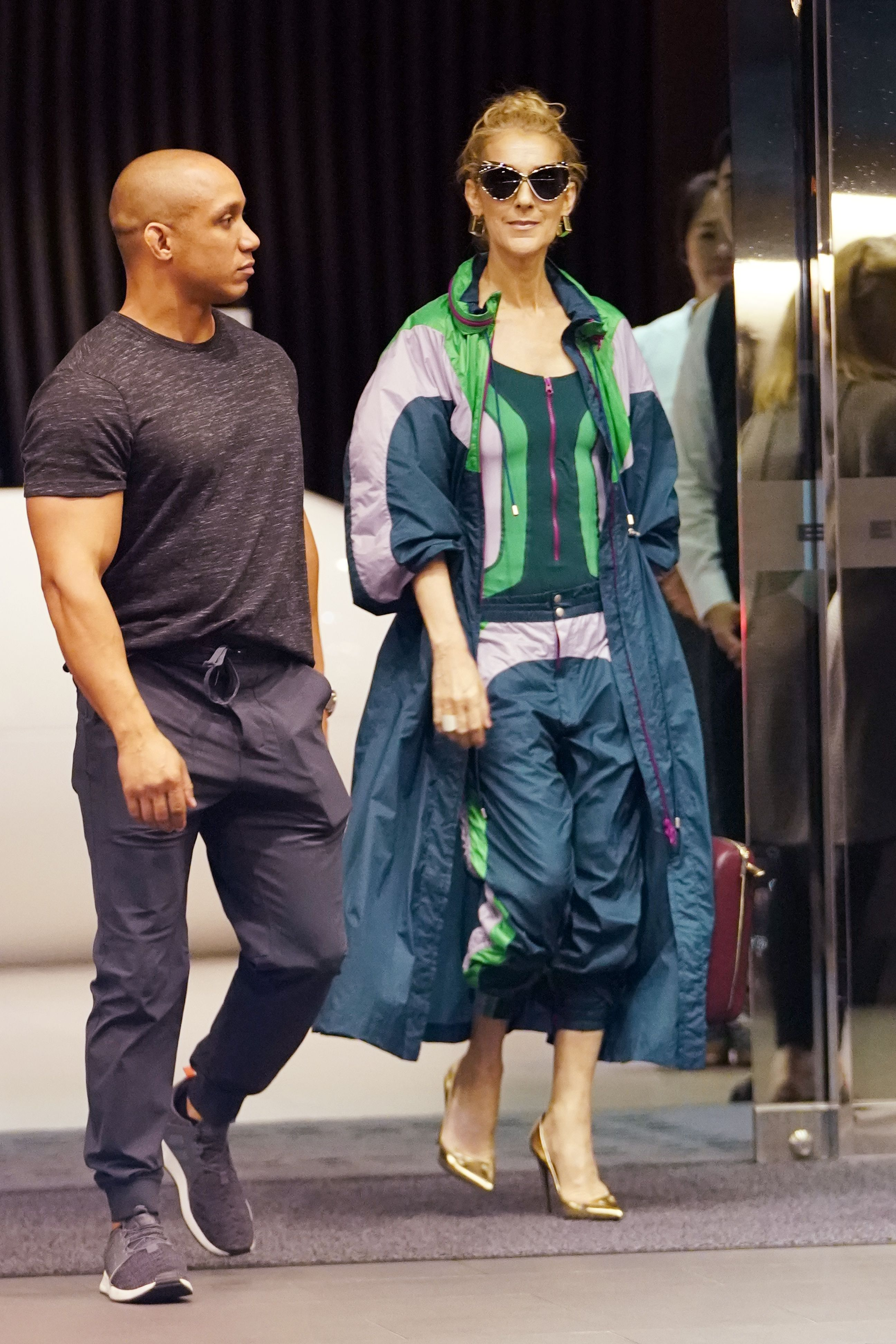Celine Dion Arrives In Taipei