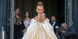 celine dion at couture