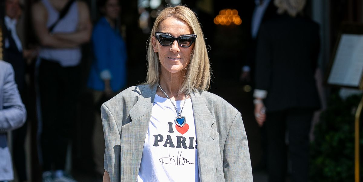 Celine Dion debuts a chic new bob at the couture shows