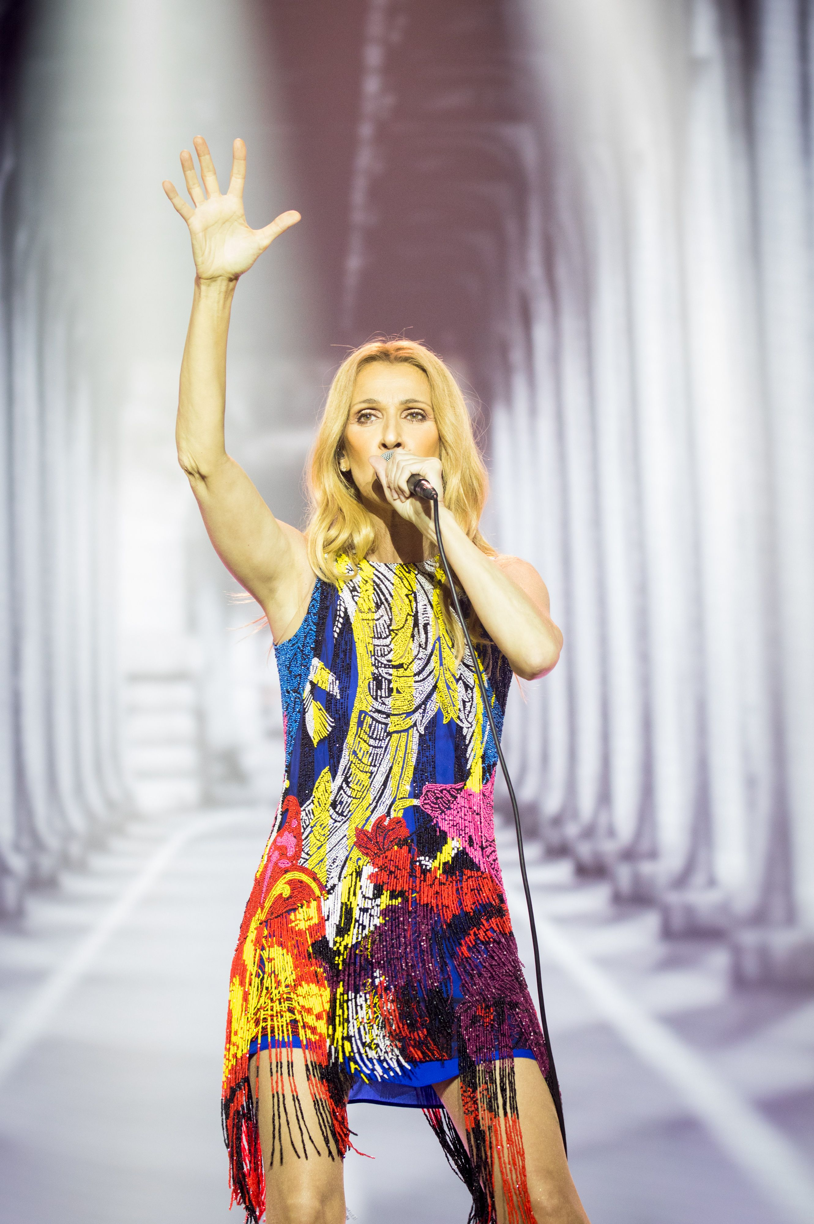 Celine Dion Performs In Macau