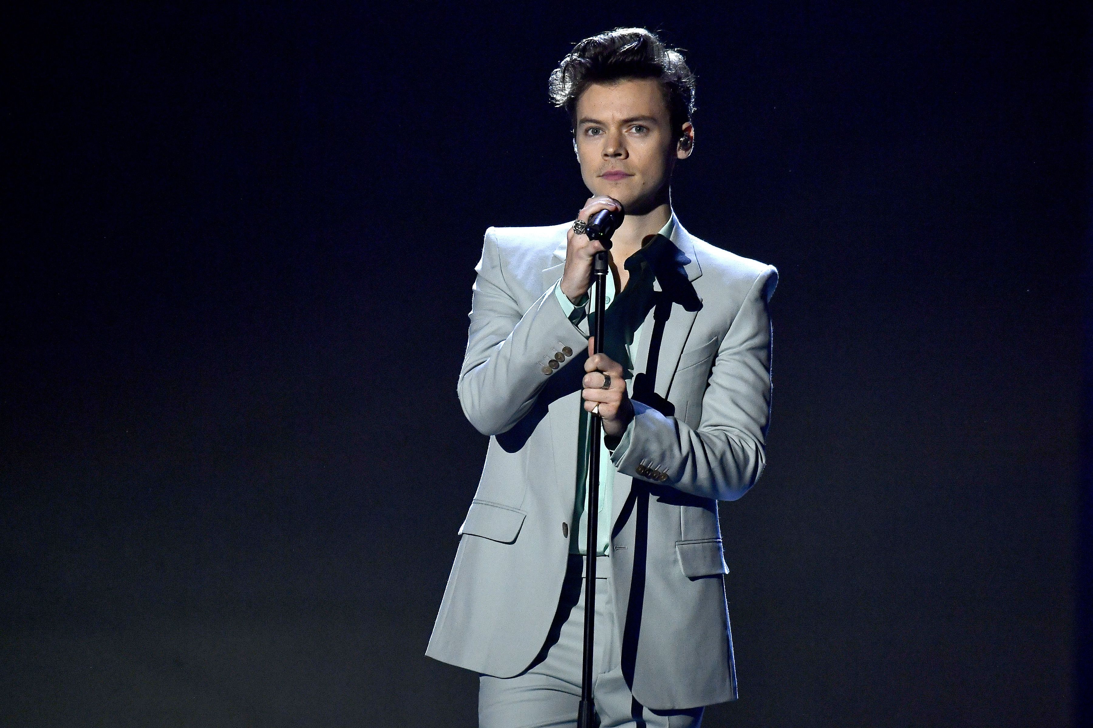Rejoice: Harry Styles Says He's Been Writing New Songs While Social Distancing