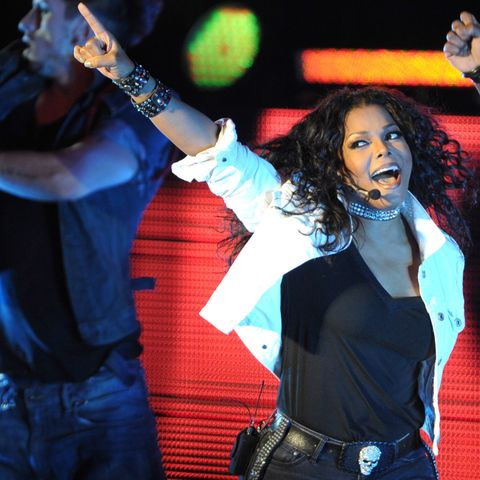Janet Jackson 'Number Ones: Up Close and Personal' Tour - Los Angeles, California