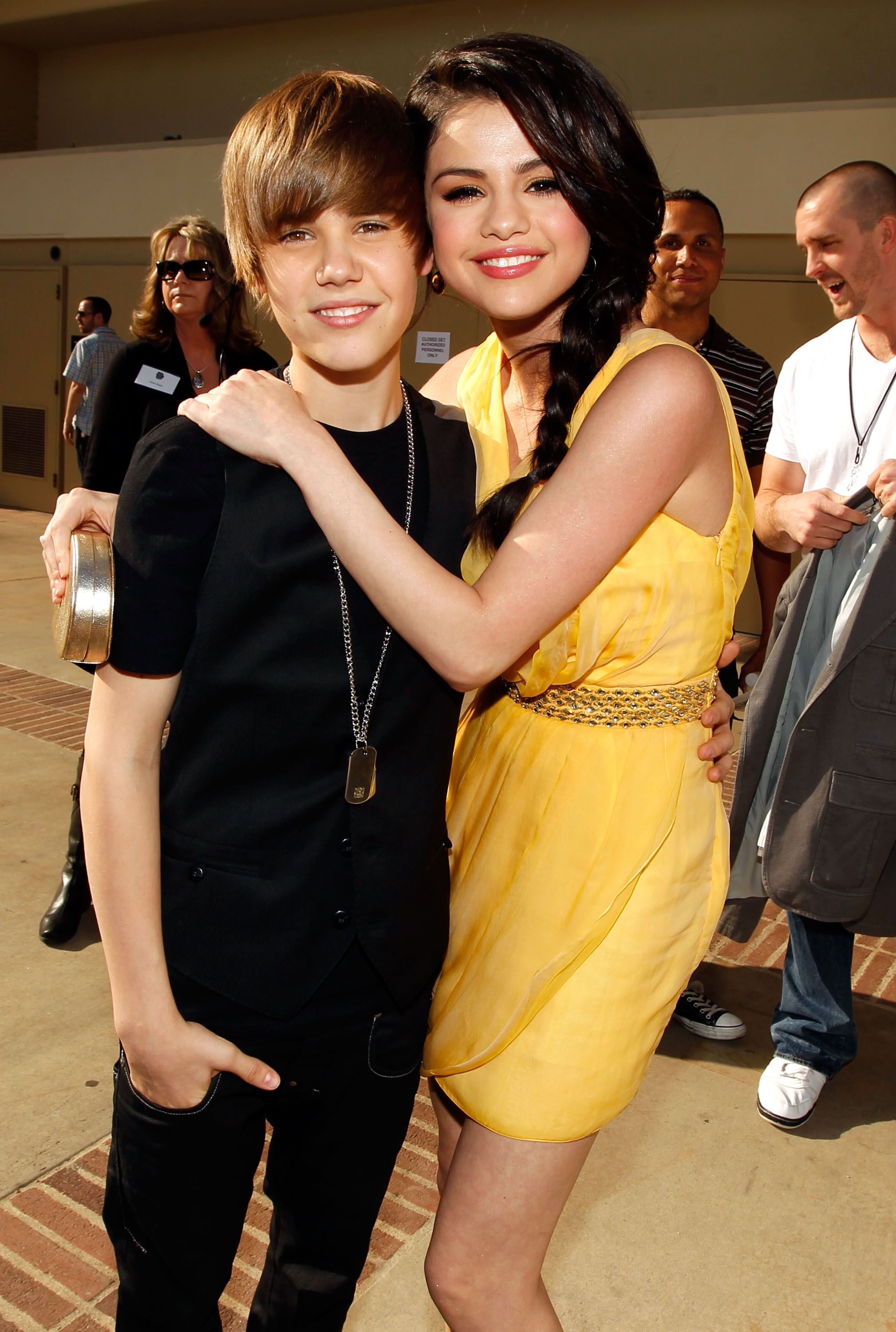 Justin Bieber begon dating Selena
