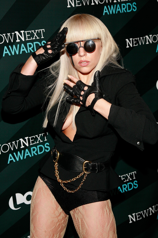 Then: Lady Gaga