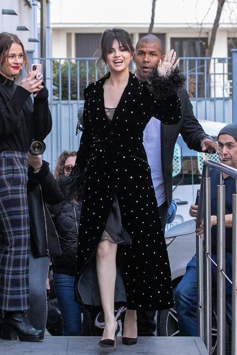 Celebrity Sightings In Paris - December 13, 2019