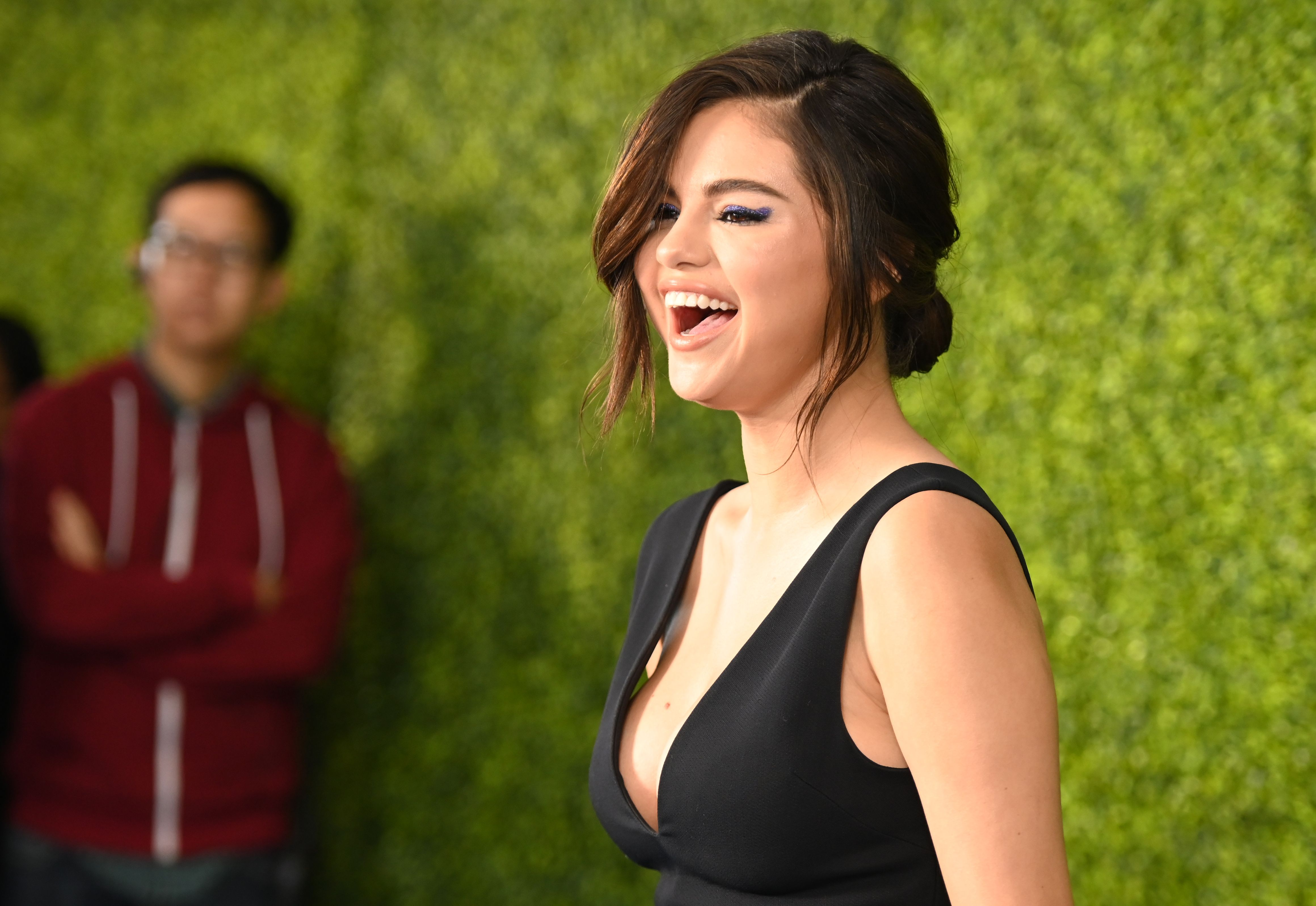 Selena Gomez Just Stepped Out for Her Cousin's Wedding Looking Amazing