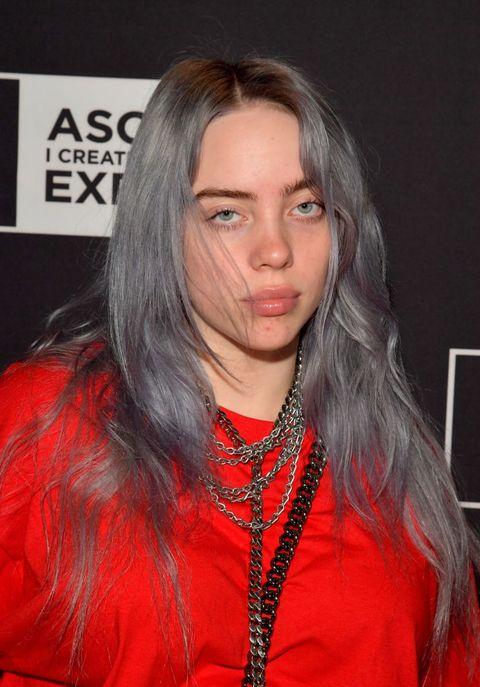 Billie Eilish in Charcoal Gray