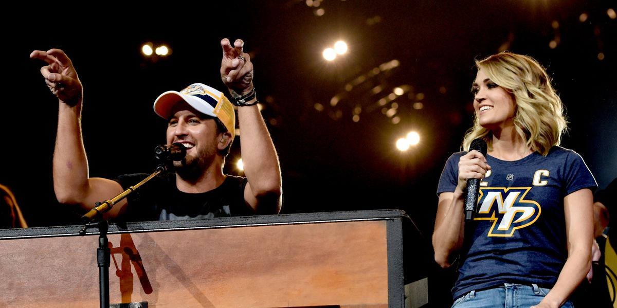 Luke Bryan Has A Lot to Say About Carrie Underwood's Past Snubs for CMA's Entertainer of the Year