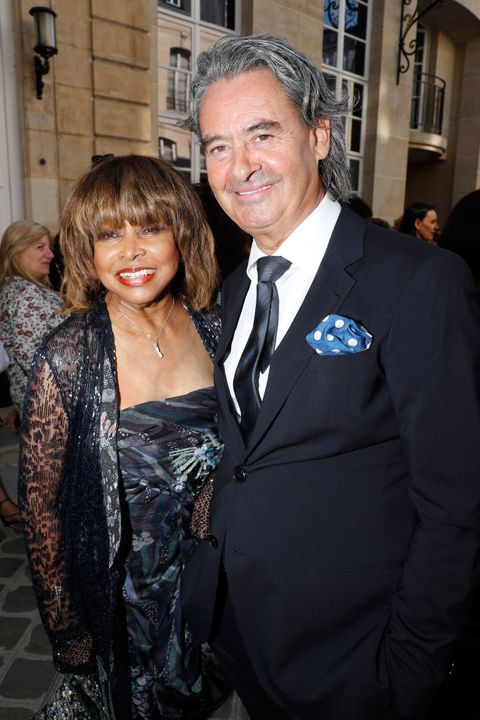 tina turner and erwin bach in 2018