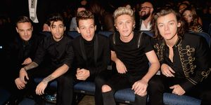 One Direction tijdens American Music Awards 2014
