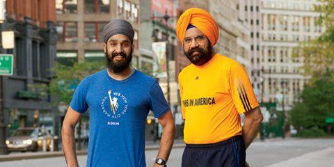 Sikh Marathoners