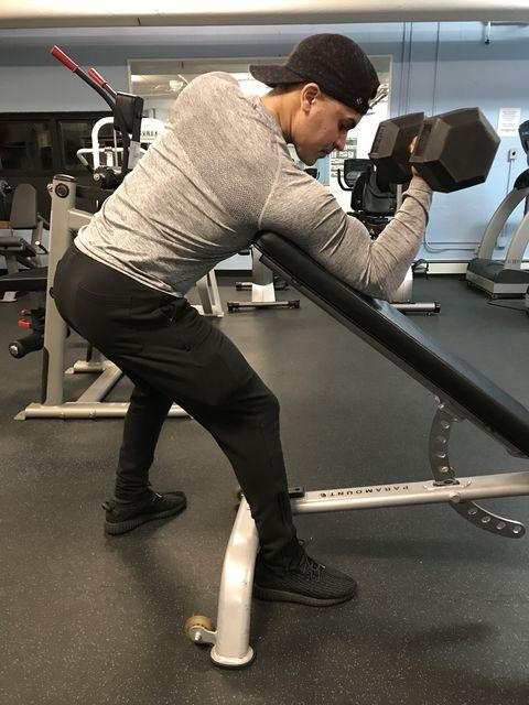 Shoulder, Standing, Arm, Leg, Exercise equipment, Physical fitness, Balance,