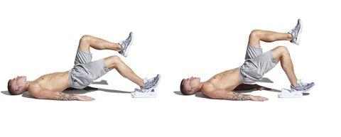 Abdomen, Leg, Arm, Muscle, Joint, Knee, Crunch, Shoulder, Trunk, Human leg,