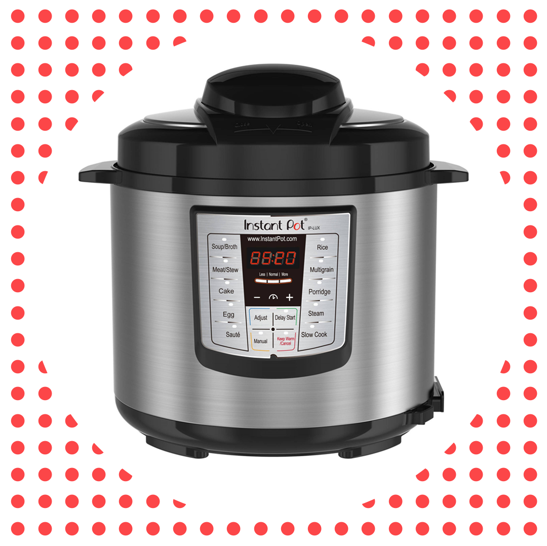 The Instant Pot LUX60 6-in-1 Pressure Cooker Is Nearly Half-Off at Walmart Right Now