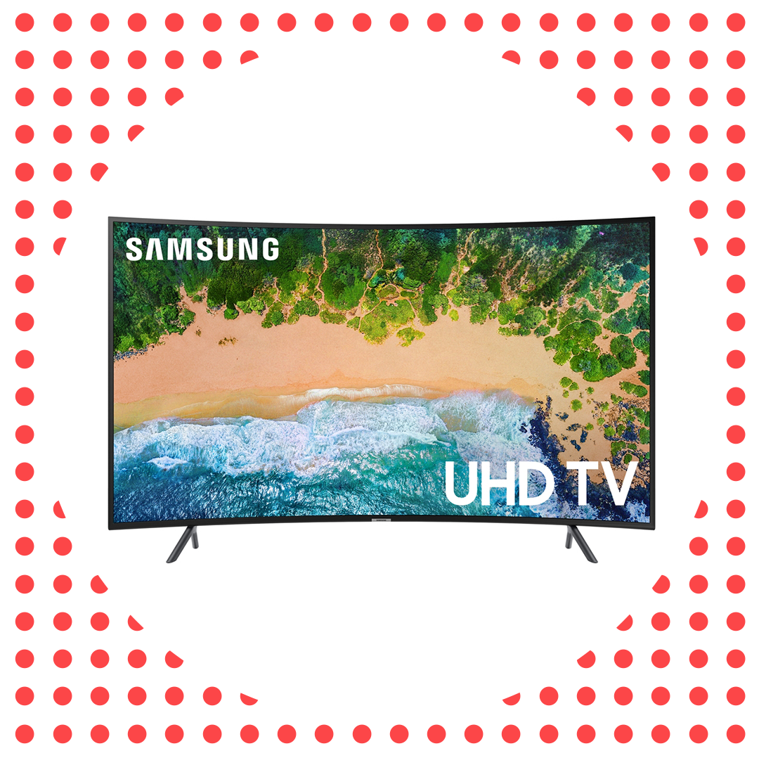 """This 65"""" Samsung 4K HD TV Is 50 Percent Off Today Only"""