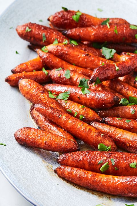 Balsamic Roasted Baby Carrots - Delish.com