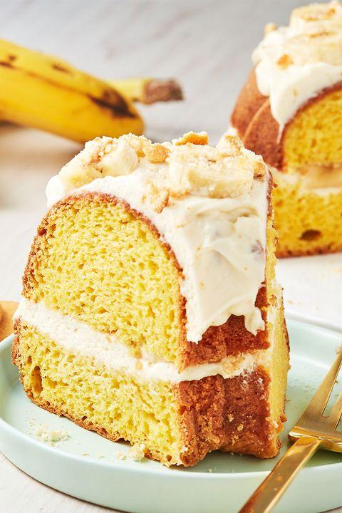 Banana Pudding Bundt Cake - Delish.com