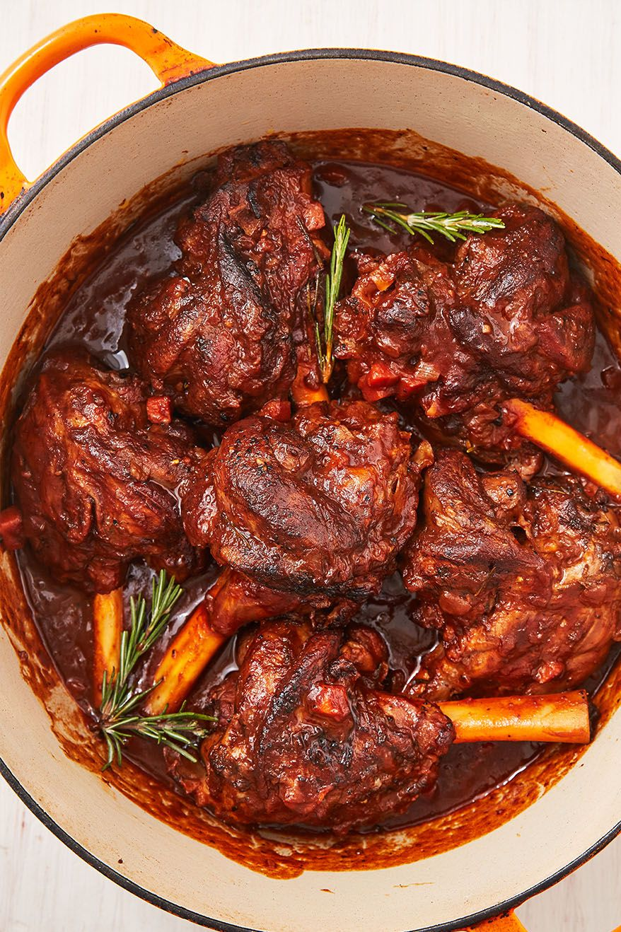 Braised Lamb Shanks - Delish.com