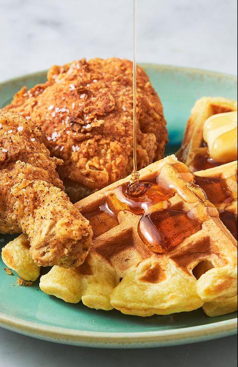 Chicken & Waffles Pin - Delish.com
