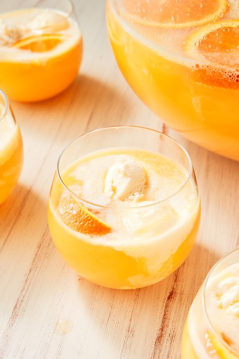 Creamsicle Punch - Delish.com